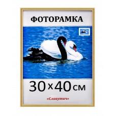 Фоторамка пластикова 30х40, рамка для фото 1415-47