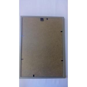 Фоторамка, пластиковая, 20*30, рамка, для фото, дипломов, сертификатов, грамот, вышивок  1415-96