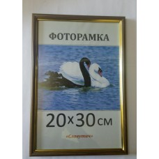 Фоторамка, пластиковая, 20*30, рамка, для фото, дипломов, сертификатов, грамот, вышивок 1415-95