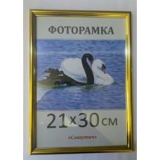Фоторамка, пластиковая, 20*30, рамка, для фото, дипломов, сертификатов, грамот, вышивок 1415-47