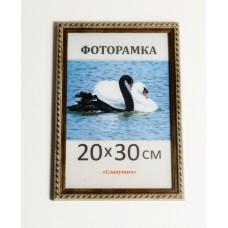 Фоторамка, пластиковая, 20*30, рамка, для фото, дипломов, сертификатов, грамот, вышивок  2115-15