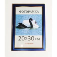 Фоторамка, пластиковая, 20*30, рамка, для фото, дипломов, сертификатов, грамот, вышивок  2313-38