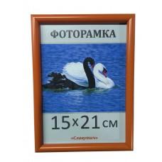 Фоторамка, пластиковая, А5, 15*21, рамка, для фото, дипломов, сертификатов, грамот, вышивок  1417-61