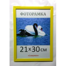 Фоторамка, пластиковая, 10*15, А6,  рамка, для фото, дипломов, сертификатов, грамот, вышивок 1611-60