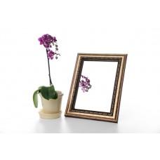 Зеркало в багете, зеркала настольные, зеркала настенные, зеркало с подставкой, 3117-15