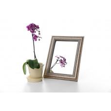 Зеркало в багете, зеркала настольные, зеркала настенные, зеркало с подставкой, 3117-141