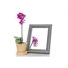 Зеркало в багете, зеркала настольные, зеркала настенные, зеркало с подставкой, 3117-157